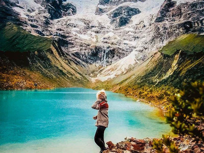 Trilha lagoa humantay: Um belo lago glacial em Cusco